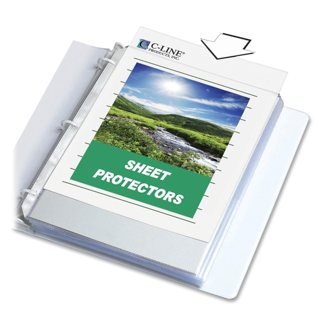 C-Line Biodegradable Sheet Protector 62617 CLI62617