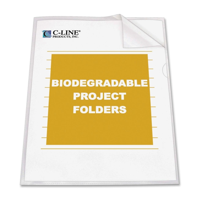 C-Line Biodegradable Project Folder 62627 CLI62627