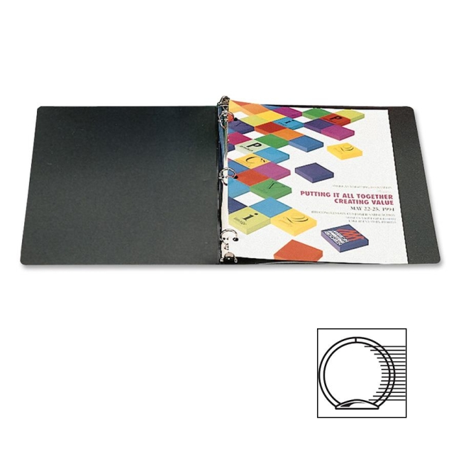 ACCO Flexible Accohide Round Ring Binder 39711 ACC39711 A7039711A