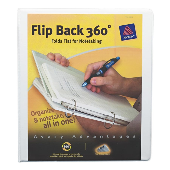 Avery Flip Back Economy Reference View Binder 17560 AVE17560