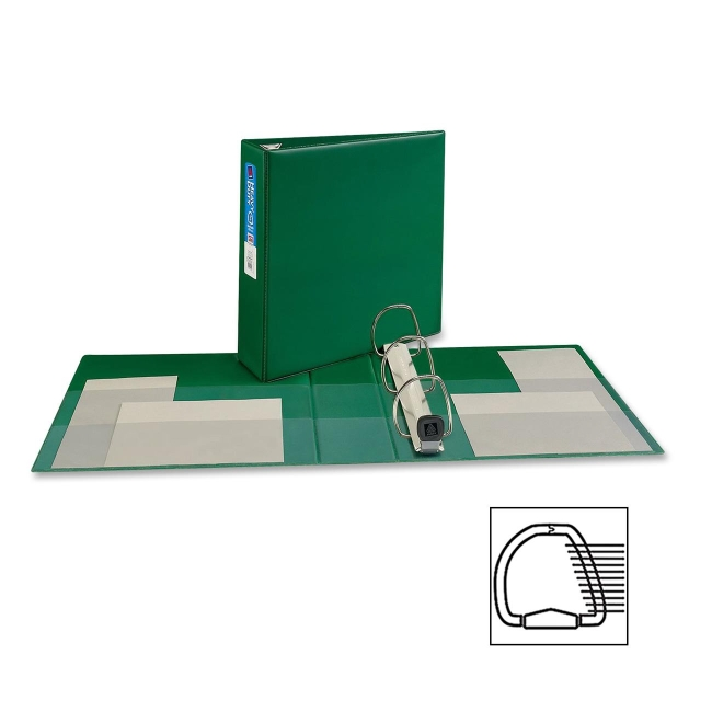 Avery EZD Heavy-Duty Reference Ring Binder 79783 AVE79783