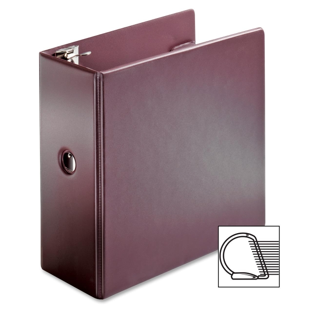 Globe-Weis Slant-D Vinyl Locking Ring Binder 11957 CRD11957