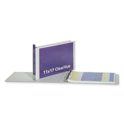 Globe-Weis ClearVue D-Ring Binder 22132 CRD22132