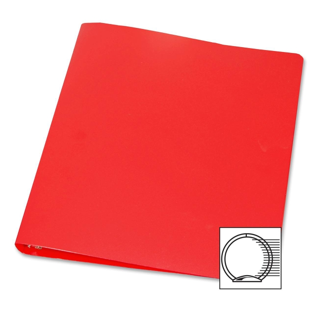 Samsill 28-Gauge Poly 3-Ring Binder 10303 SAM10303