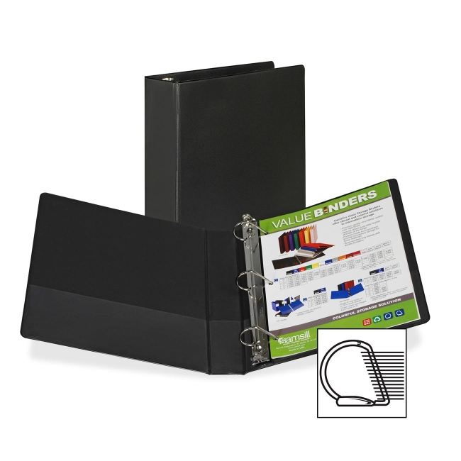 Samsill Angle-D Ring Binder 16630 SAM16630