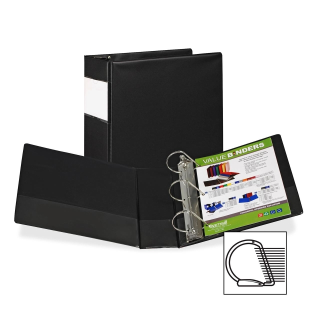 Samsill Angle-D Ring Binder 16690 SAM16690