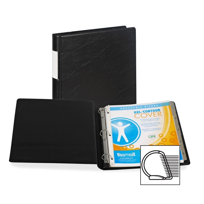 Samsill Angle-D Ring Binder 17630 SAM17630