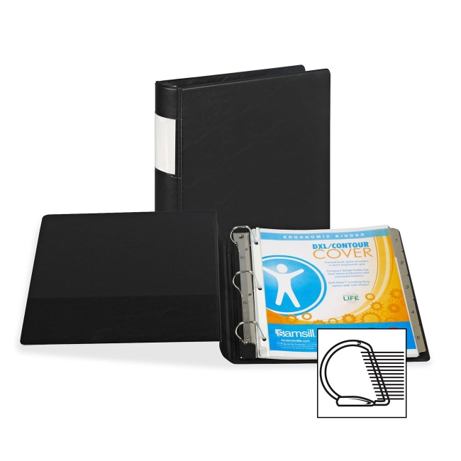 Samsill Angle-D Ring Binder 17650 SAM17650
