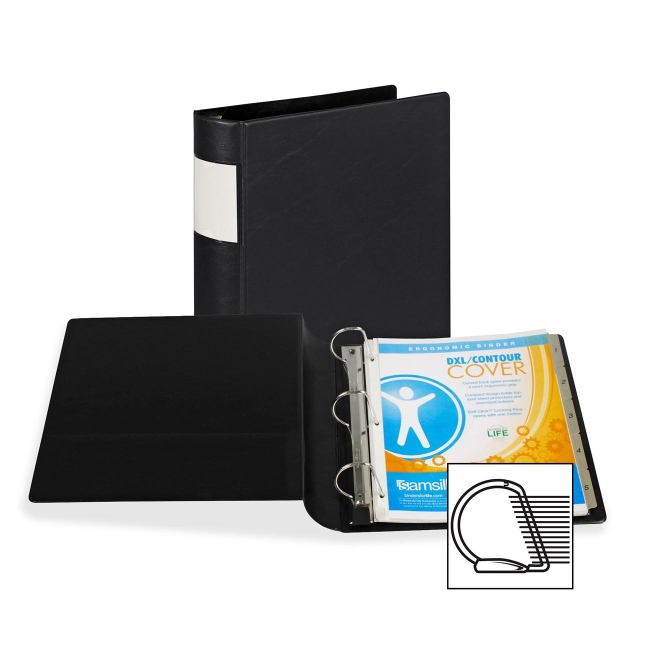 Samsill Angle-D Ring Binder 17660 SAM17660