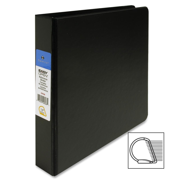 Sparco Slant-D Locking Ring Binder 26968 SPR26968