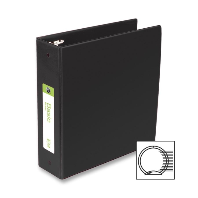 ACCO Economy Round Ring Reference Binder 36849NB WLJ36849NB