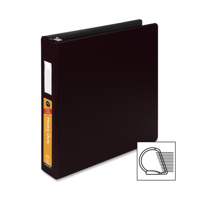 ACCO Heavy Duty DublLock D-Ring Binder 38434B WLJ38434B