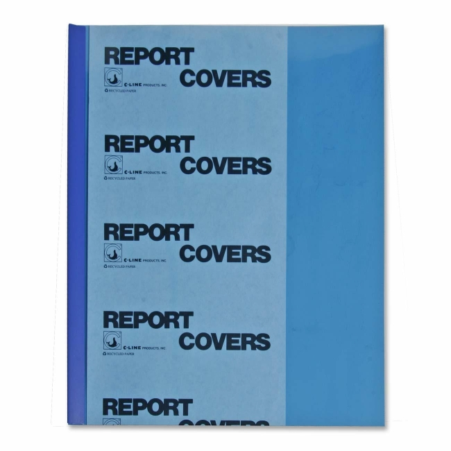 C-Line Vinyl Report Cover with Binding Bars 32555 CLI32555