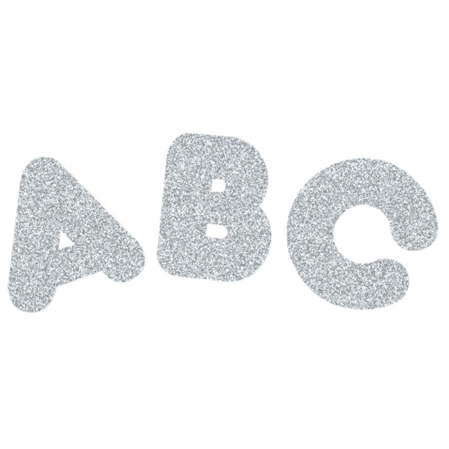 Trend Ready Letters Sparkle Letters T1613 TEPT1613