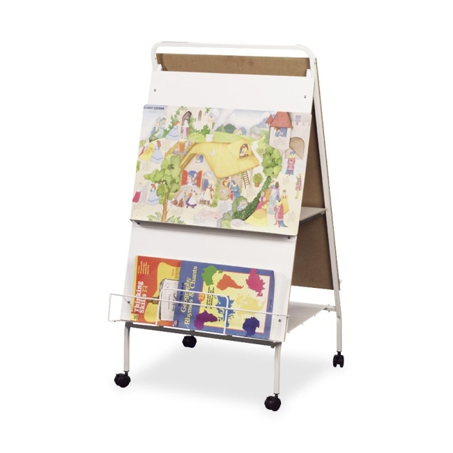 Double-Sided Display Easel With Wheels Balt 33543 BLT33543