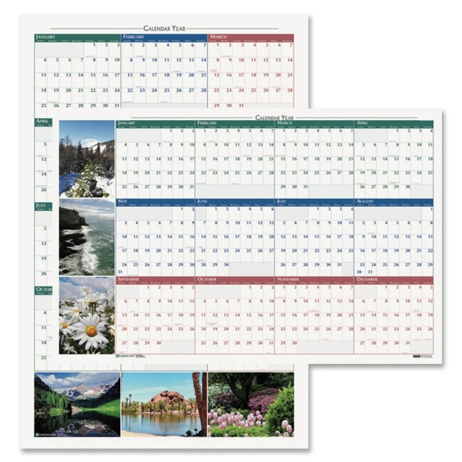 House of Doolittle Earthscapes Reversible Wall Calendar 3931 HOD3931