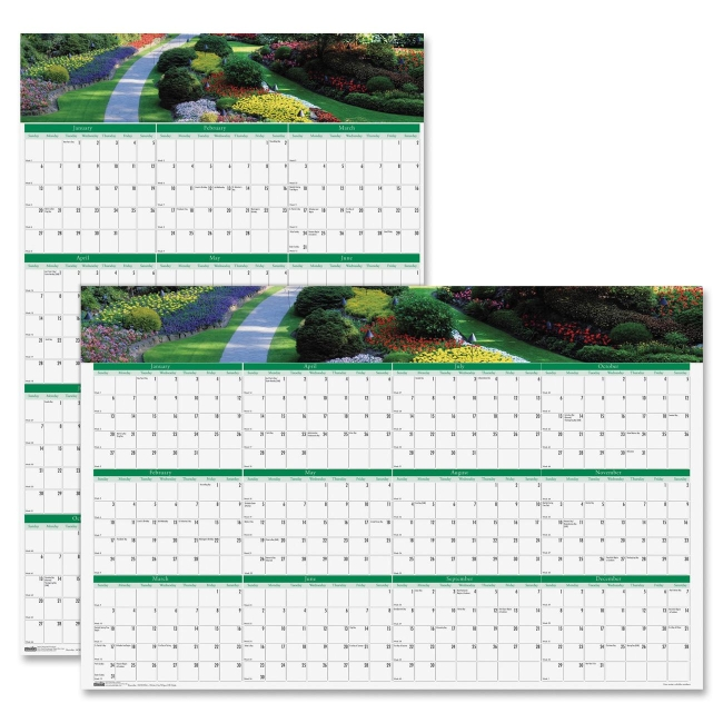 House of Doolittle Earthscapes Gardens of the World Wall Calendar 394 HOD394