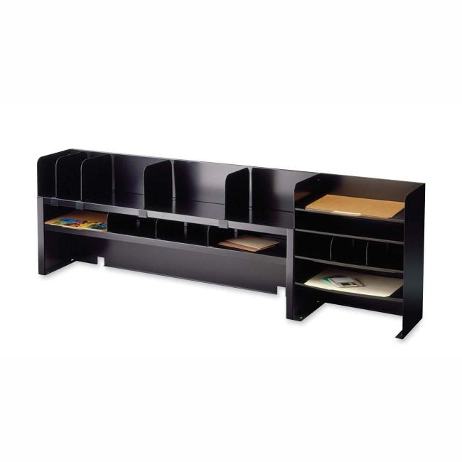 Mmf steelmaster desktop shelf organizer 2062dobk mmf2062dobk thecheapjerseys Image collections