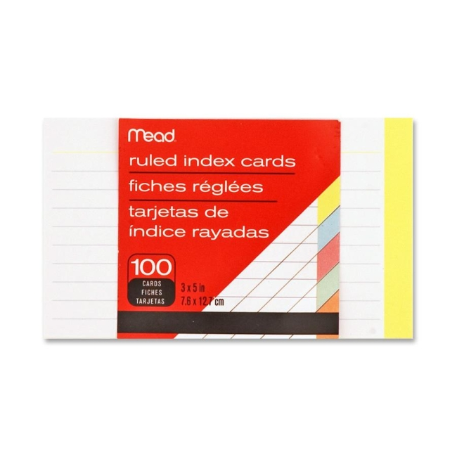 Mead Colored Index Card 63074 MEA63074