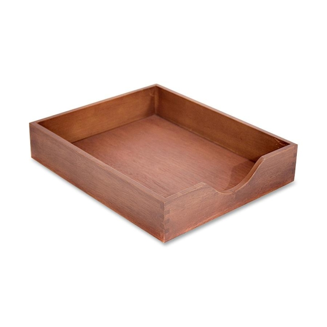 Carver Wood Products Hedberg Letter Size Desk Tray CW07212 CVRCW07212