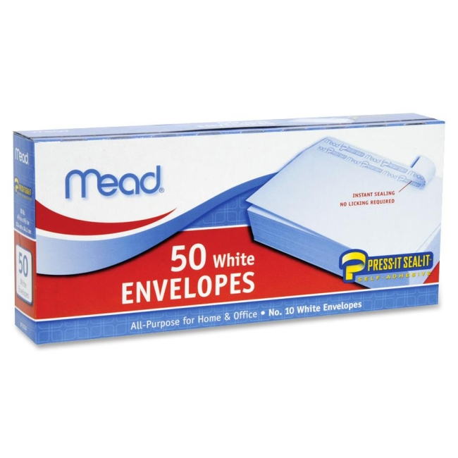 Mead Plain Business Size Envelopes 75024 MEA75024