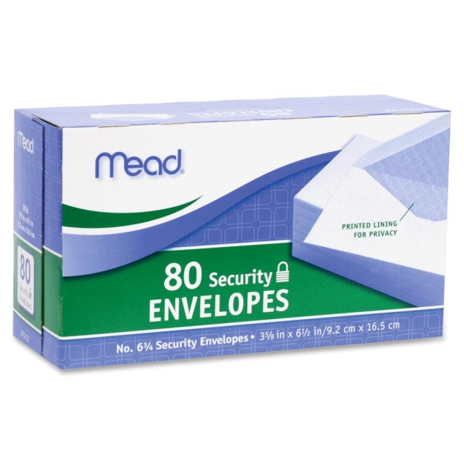 Mead Security Envelope 75212 MEA75212