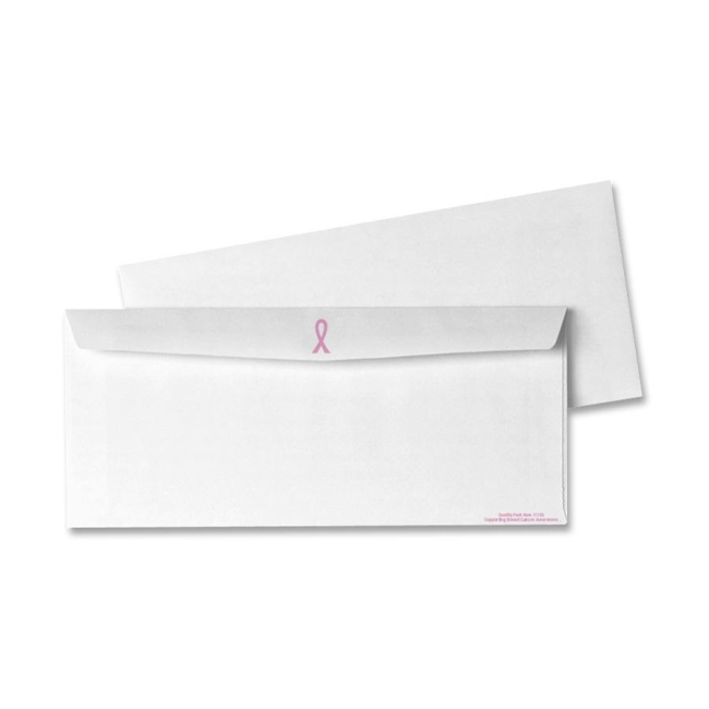 Quality Park Breast Cancer Business Envelope 11120 QUA11120