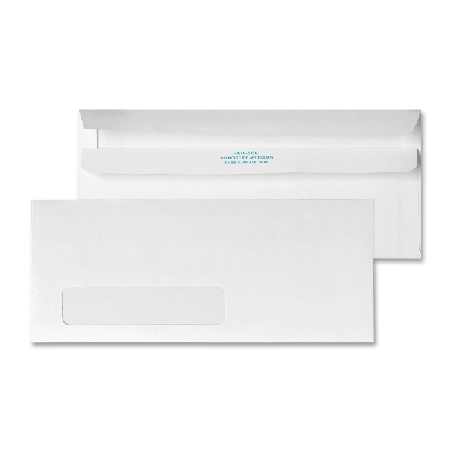 Quality Park Redi-Seal Single Window Envelope 21318 QUA21318