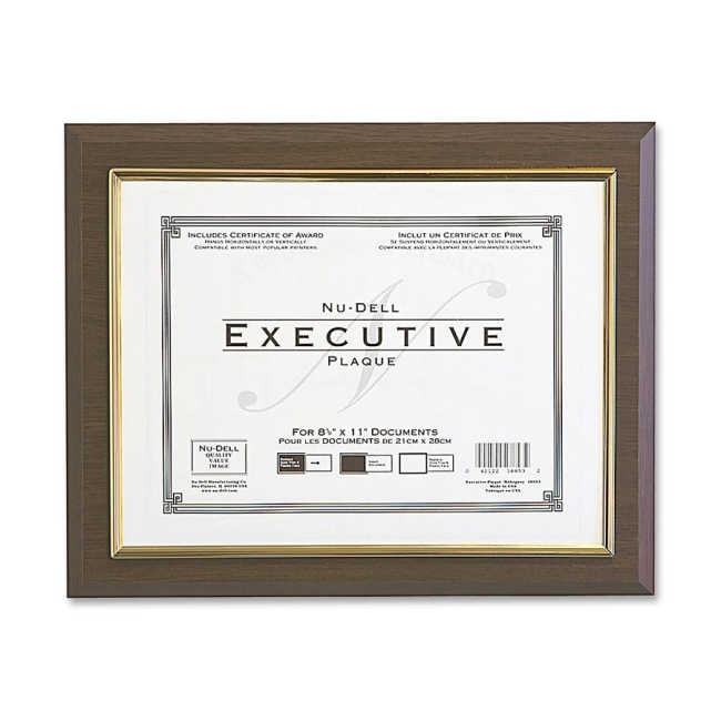 Nu-Dell Insertable Executive Award Plaque 18851M NUD18851M