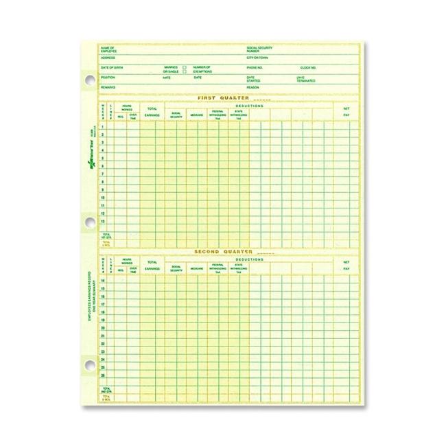 weekly payroll sheets