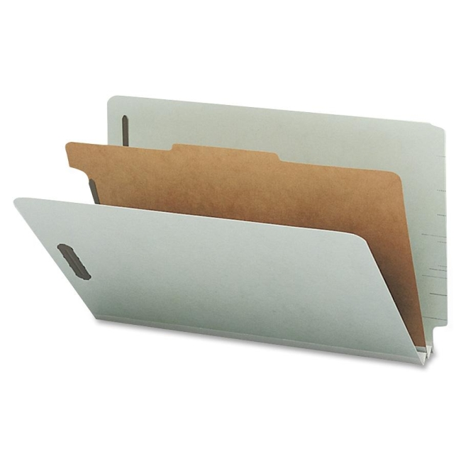 Smead End Tab Classification Folder with Divider 29800 SMD29800
