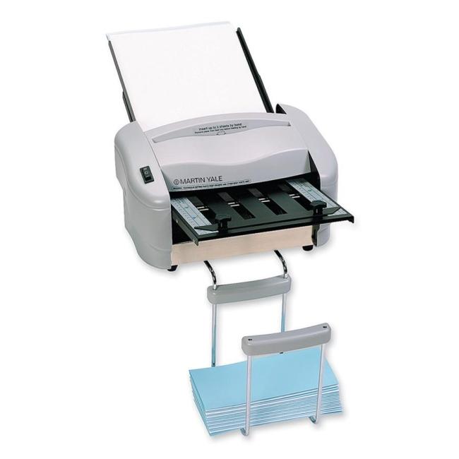 printer With martin yale rapidfold desktop letter folder