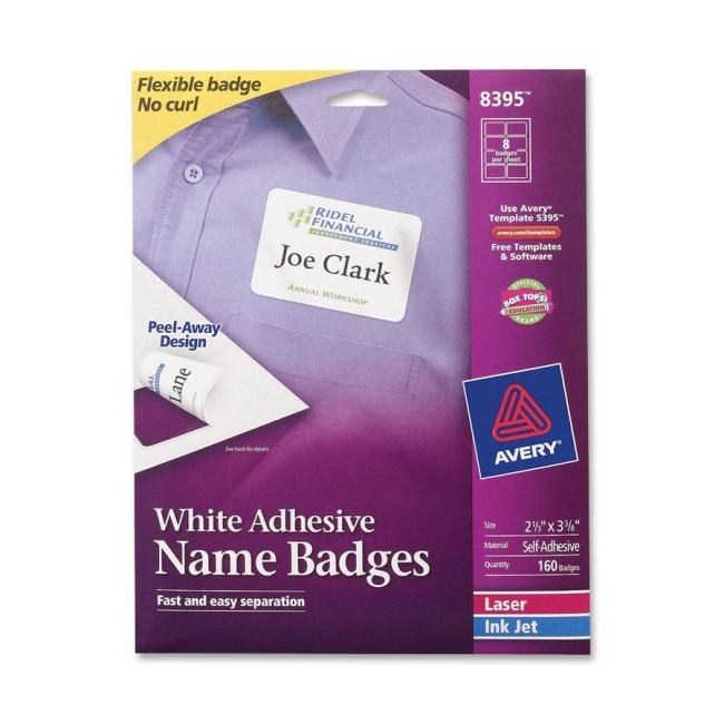 8395 name badges
