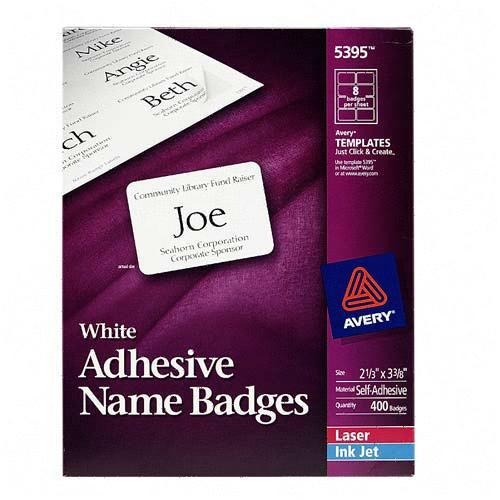 name tag template 5395