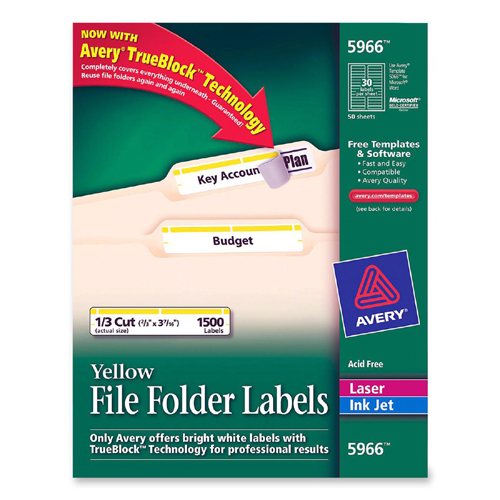 Avery Filing Labels 5966 AVE5966