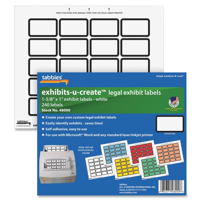 Canon Exhibit-U-Create Label 48090 TAB48090