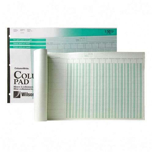 ACCO One Side Ruled Columnar Pad G7212A WLJG7212A