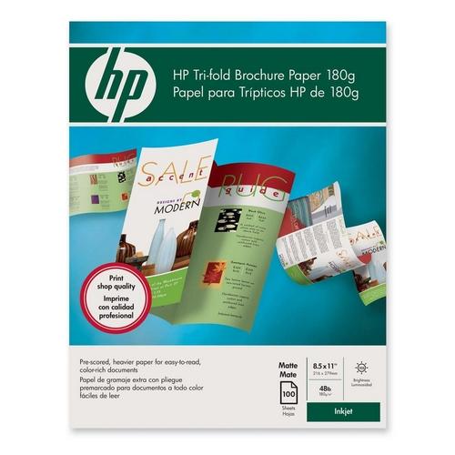 Printer for Hp tri fold brochure template