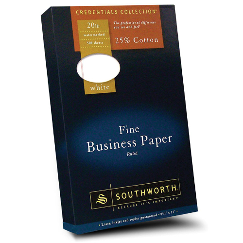 southworth fine thesis paper Southworth exceptional thesis paper, 100% cotton southworth fine business paper, 25% cotton, 20 lb the watermark on southworth paper is a sign of quality.