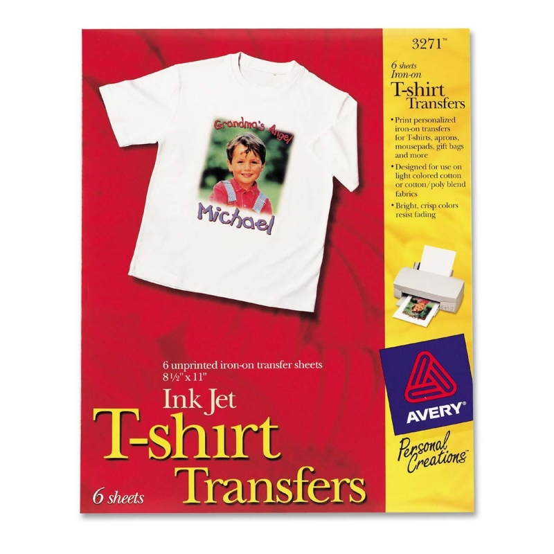 Avery t shirt transfer template for Free t shirt transfer templates