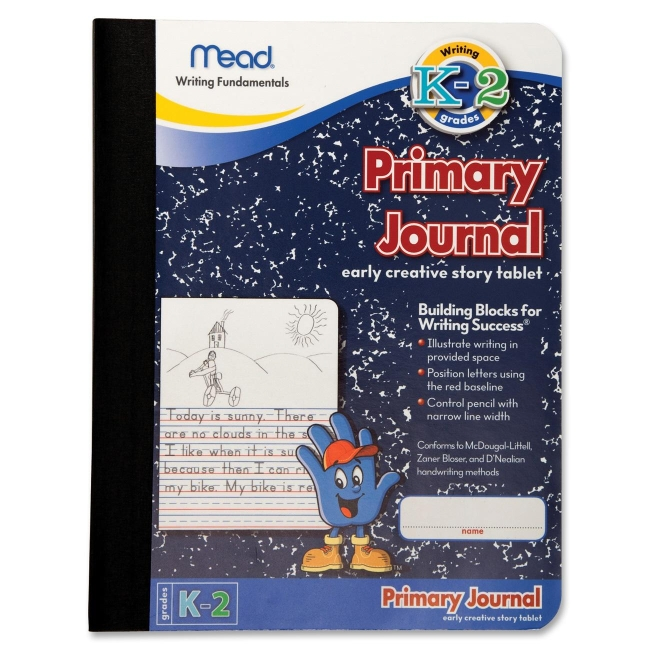 Primary Journal Creative Story Tablet MeadWestvaco 09956 MEA09956 Memo / Subject Notebooks