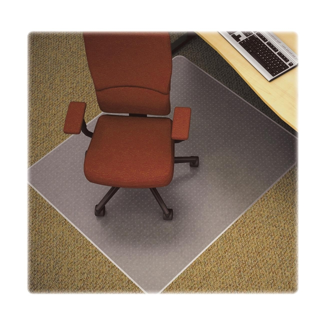 Anti Static Mat Office : Diamond anti static chair mat lorell llr