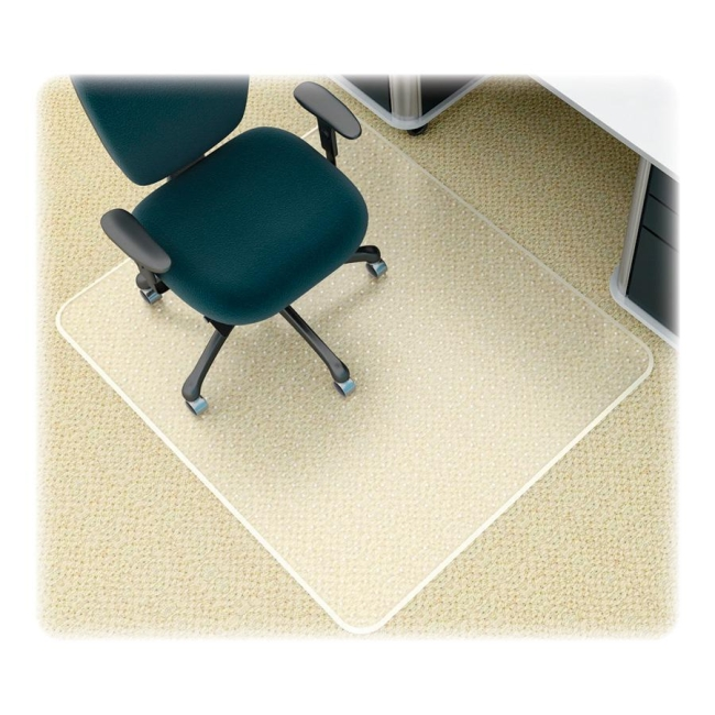 SuperMat Medium Weight Chair Mat Deflecto CM14243 DEFCM14243 Chair Accessories