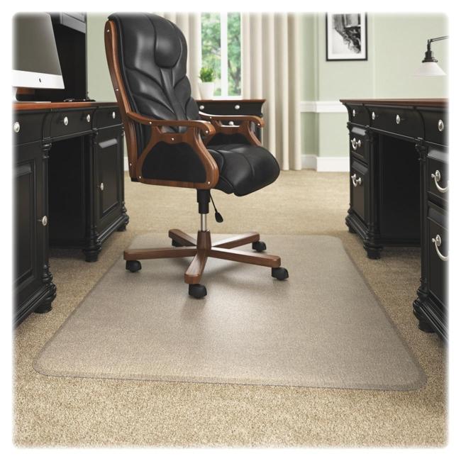 Beveled Edge Chair Mat Deflecto CM17743 DEFCM17743 Chair Accessories