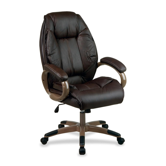 office star top grain high back executive chair dhl3062g1