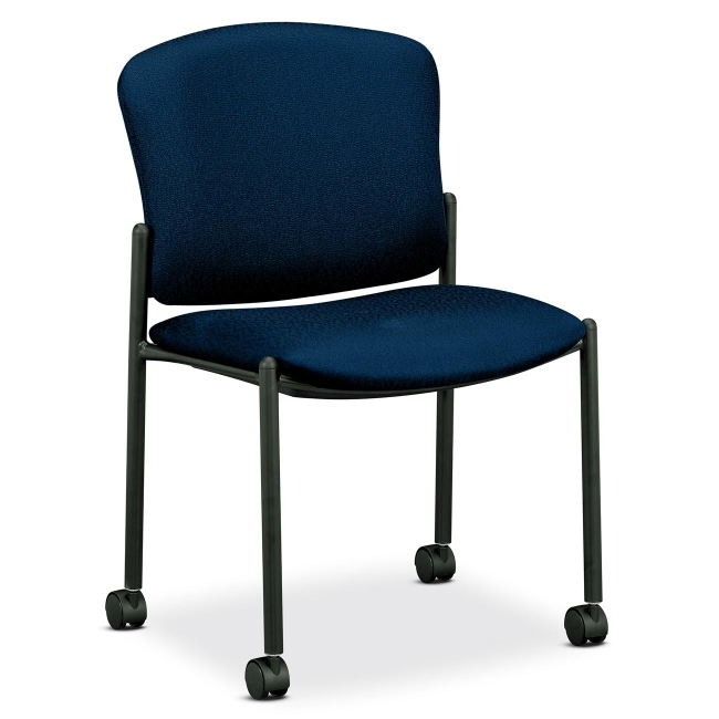 HON 4070 Series Mobile Armless Guest Chair 4077NT90T HON4077NT90T