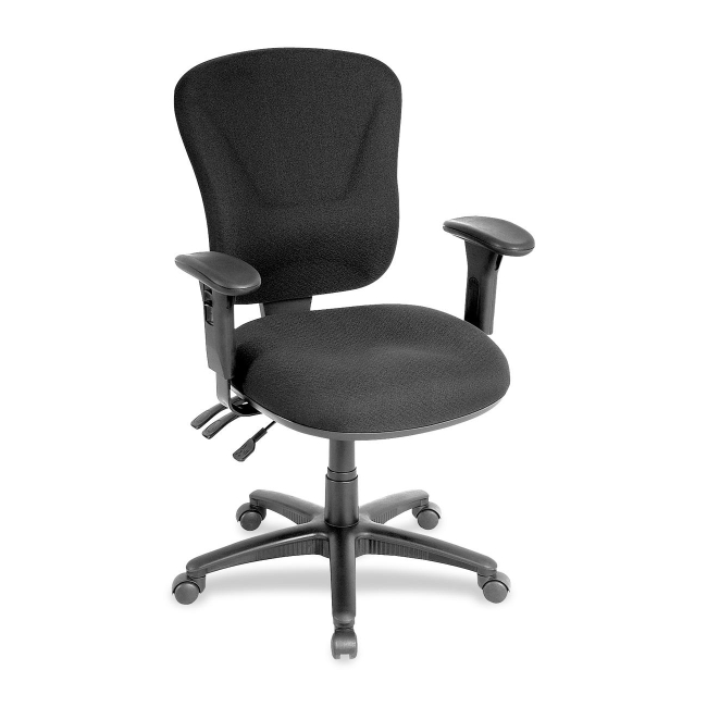 Lorell Accord Mid-Back Task Chair 66128 LLR66128