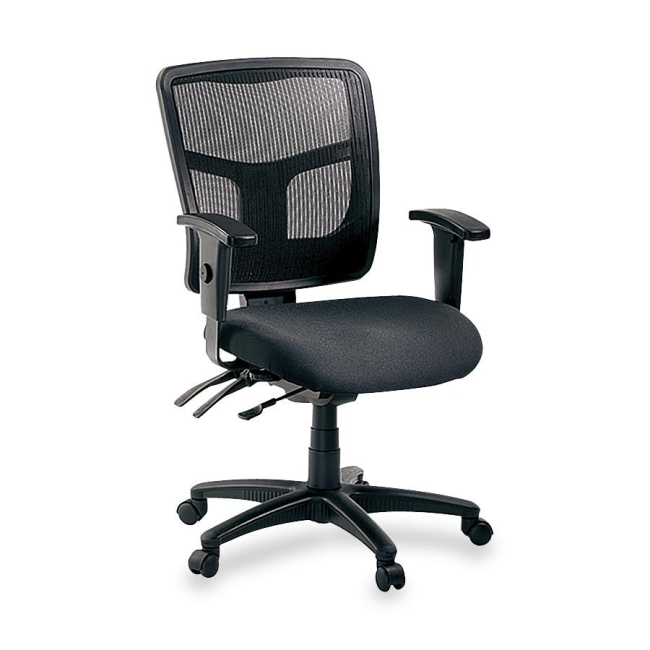 Lorell 86000 Series Managerial Mid-Back Chair 86201 LLR86201