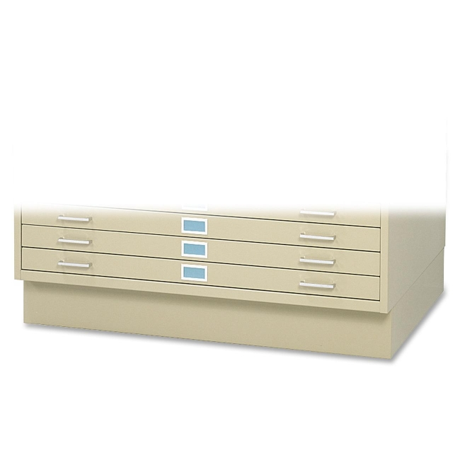 "Safco 6"" High Base for 5-Drawer Steel Flat File 4997TSR SAF4997TSR"
