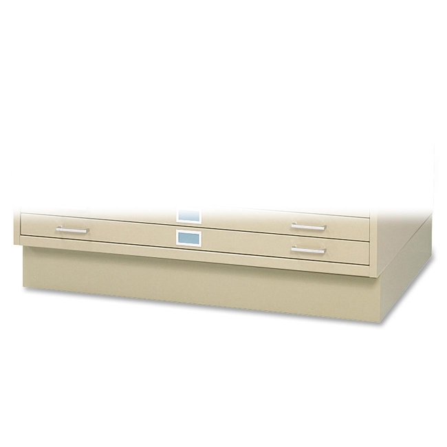 "Safco 6"" High Base for 5-Drawer Steel Flat File 4999TSR SAF4999TSR"